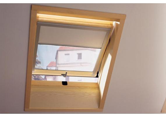 Rullo žalūzijas jumta logiem